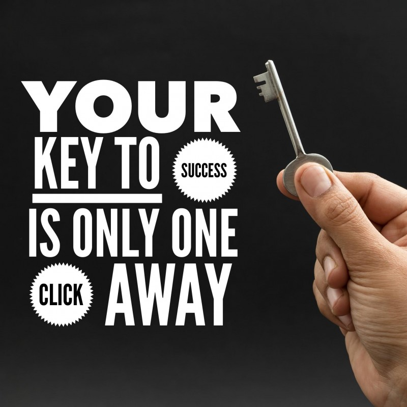 Your key to success is only one click away.