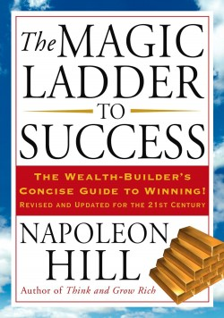 Image of book cover of The Magic Ladder to Success by Napoleon Hill