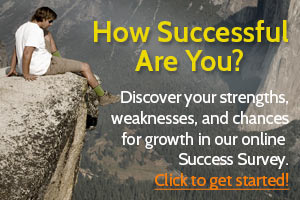 How successful are you? Take the success survey!