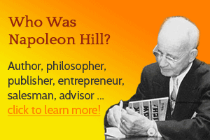 Who was Napoleon Hill? Click to learn more!