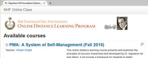 online distance learning program banner