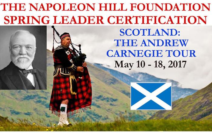 Leader Certification Spring 2017 in Scotland