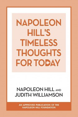 cover of the book Napoleon Hill's Timeless Thoughts for Today