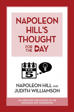 Image of the cover of the book Napoleon Hill's Thought for the Day