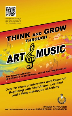 Image of book cover of Think and Grow Through Art and Music