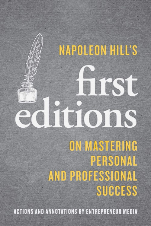 Cover of Napoleon Hill First Editions