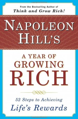 Cover of Napoleon Hill's A Year of Growing Rich