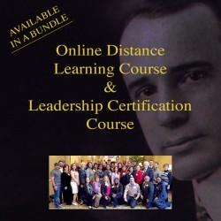 Distance Learning Course and Leadership Certification Bundle