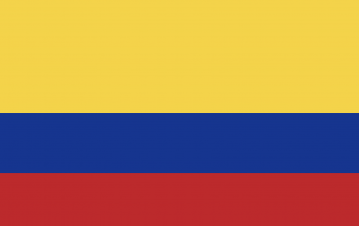 Image of flag of Columbia