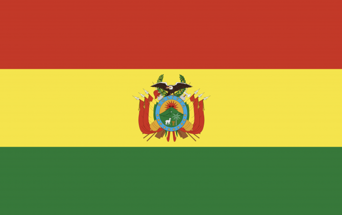 Image of flag of Bolivia