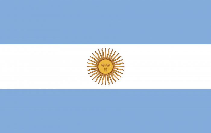 Image of flag of Argentina