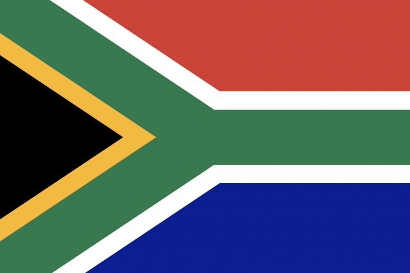 Image of flag of South Africa
