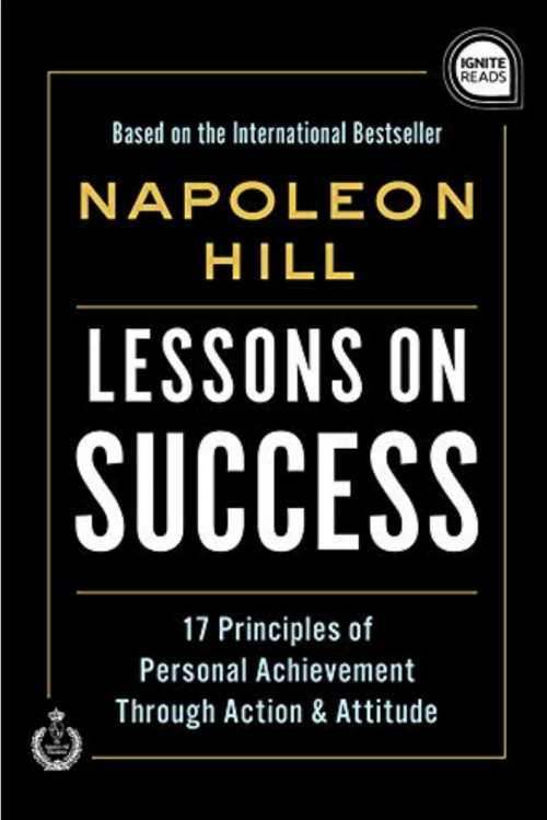 Napoleon Hill Lessons on Success Book Cover