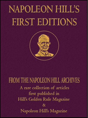 napoleon hill first editions