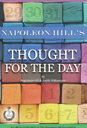 napoleon hills thought for the day