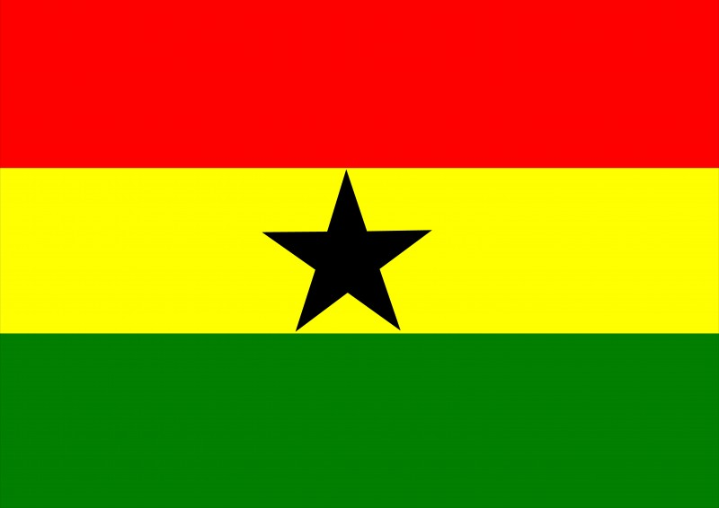 Image of the flag of Ghana